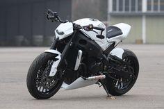 """Suzuki GSX-R 1000 """"White Shorty """" by Bad-Bikes"""