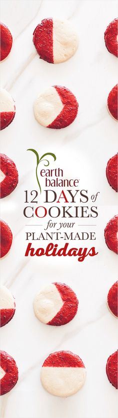 Sign-up to receive perfectly plant-made cookie recipes this holiday season in the first 12 days in December!