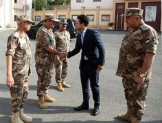 21 August 2017 His Royal Highness Crown Prince Al Hussein bin Abdullah II visits the General Command of the Jordan Armed Forces-Arab Army