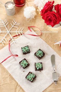 Peppermint Truffles | Butter Baking