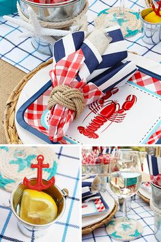Find and shop thousands of creative projects, party planning ideas, classroom inspiration and DIY wedding projects. Lobster Bake Party, Shrimp Boil Party, Crab Party, Lobster Boil, Seafood Party, Crab Boil, Happy As A Clam, Decoration Inspiration, Diy Wedding Projects