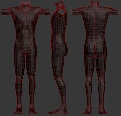 BodyTopology - polycount