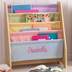 kidkraft personalized bookshelf primary sling