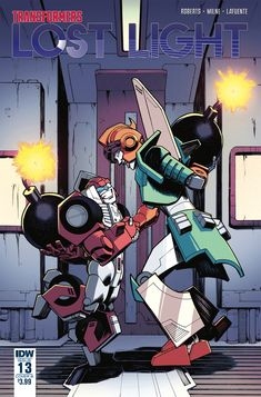 Nick Roche's Cover B for #Transformers Lost Light #13