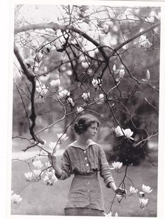 Edna St. Vincent Millet.     (Love this photograph.  I remember it from my 7th grade Lit. Textbook.)