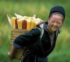 Femme Hmong à Sapa, Lao Cai, Vietnam  www.sejoursindochine.com