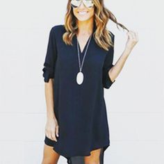 3/4 Sleeve Spring Summer Dress Visit our shop! http://ift.tt/2qlij55 #thetrendsAve #elegant #hip #streetfashion #edgy #classicfashion #fashionsensation #fashion #fashionista #instafashion #fashionblogger #streetfashion #fashiondiaries #FashionAddict #fashionstyle #fashiongram #womensfashion #fashionweek #fashionpost #highfashion #fashionlover #fashiondaily #igfashion #rompers #summer #laces #overall #jumpshort #jumpsuit