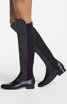 I'm on the hunt for the perfect black over-the-knee boot and I think I may have found it!