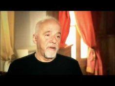 """""""Coincidence is the language of the stars. For something to happen, so many forces had to be put into action.""""  Watch #PauloCoelho discuss some of our favorite topics, including coincidence and faith!"""
