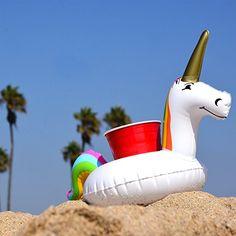 Amazon.com: GoFloats Unicorn Drink Float (3 Pack): Sports & Outdoors