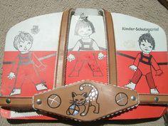 alter aus den 60/70 ziger Vollrindleder/Leder KInderschutz-Gürtel unbenutzt | eBay