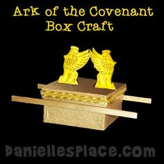 Bible Craft for kids - Ark of the Covenant Box Craft for Sunday School from www.daniellesplace.com