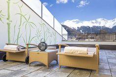 Sauna-Frischluftterrasse Wellness Spa, Sauna, Outdoor Furniture, Outdoor Decor, Massage, Home Decor, Patio, Air Fresh, Homemade Home Decor