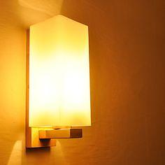 230 V Led Edelstahl Wandleuchte E27 4 W Wandlampe warmweiss modern