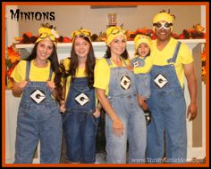 37 DIY Minion Costume Ideas for Halloween - Big DIY IDeas