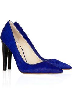 Still jealous of @Krissy Mummert Reilly 's gorgeous blue suede pumps :-)
