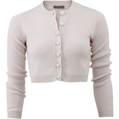Alexander Mcqueen Cropped Cardigan (2.065 BRL) ❤ liked on Polyvore featuring tops, cardigans, jackets, sweaters, outerwear, pink cardigan, pink cashmere cardigan, ribbed top, button front top and alexander mcqueen cardigan