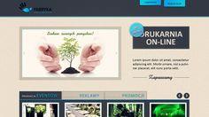 wykonanie firmowej strony www dla Fabryki Oryginałów - (nie istniejącej już) agencji marketingowo-eventowej z Bydgoszczy, prowadzonej przez Michała Urbaniaka.
