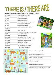 Based on animal vocabulary - ESL worksheets