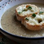 Porcini Farro Soup Rrecipe