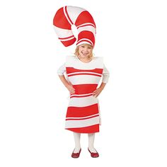 Candy Cane Costume - OrientalTrading.com  sc 1 st  Pinterest & 7 DIY Halloween Costumes for Kids | Pinterest | Candy cane costume ...