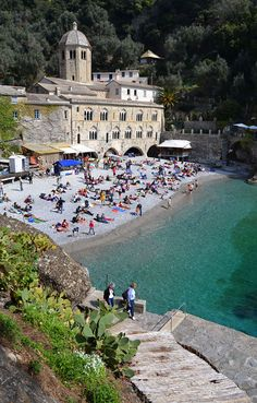 Abbazia di San Fruttuoso, Camogli, Genova - Explore the World, one Country at a Time. http://TravelNerdNici.com