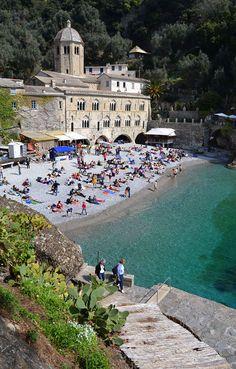 Abbazia di San Fruttuoso, Camogli, Genova - Explore the World, one Country at a Time. http://TravelNerdNici.com