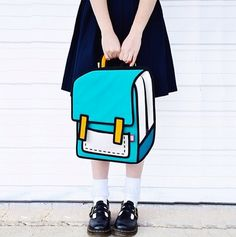 Jump From Paper Bags Uses Cartoon Sketches to Create Handbags | StyleCaster