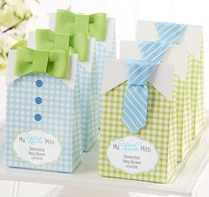 My Little Man Candy Bags - Assorted (Set of 24)