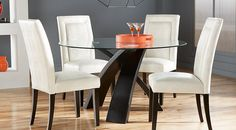Shop for a cindy crawford home philadelphia 5 pc dining for Todays furniture philadelphia