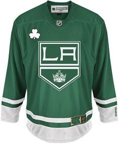 LA Kings St. Patrick's Day Jersey