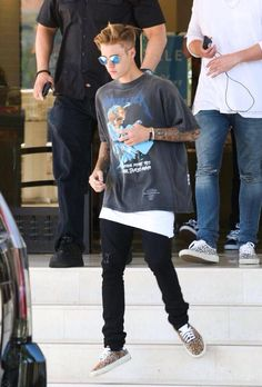 justin metallica outfit