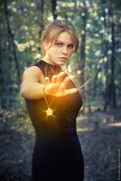 Almost exactly how I picture magic looking! Now if I could just write it to evoke that image...golden!