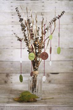 Transitional {Give Thanks} Tree | The Blissful Bee
