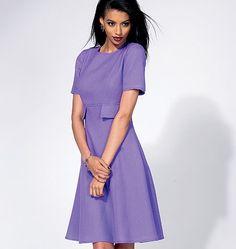 Vogue - 8828 patroon jurk | Naaipatronen.nl | zelfmaakmode patroon online