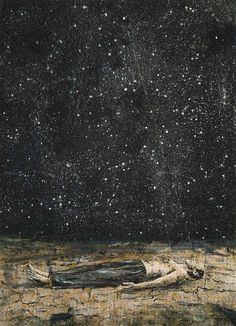 Starfall painted by Anselm Kiefer, 1995 | Flickr - Photo Sharing!