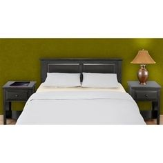 Shop for Mantua Ebony Finish Cottage Style Headboard. Get free delivery at Overstock.com - Your Online Furniture Shop! Get 5% in rewards with Club O!