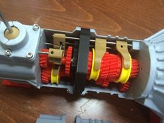 Working 5 speed transmission model for Toyota engine by ericthepoolboy - Thingiverse