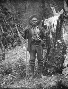 Shibana (aka Poko Tucket, aka Horse Eater, aka Captain John) - Mono – 1896