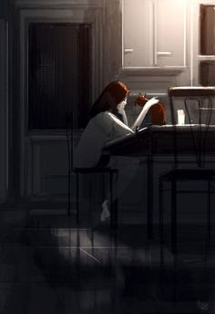 Pascal Campion is a French-American Artist living in California. Inspired by his wife and kids, he created series of concept illustrations in a unique Illustrations, Illustration Art, Pascal Campion, American Artists, Cat Art, Amazing Art, Concept Art, Art Drawings, Art Photography