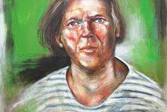 "Gazmend Freitag ""Self-Portrait"" (Posts by Gazmend Freitag) Comic Art, Popular Paintings, Portrait, Austria, Self, Artist, Posts, Top, Linz"