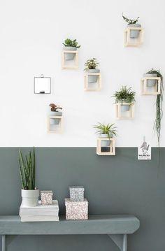 Diy Interior, Interior Decorating, Decoration Entree, Diy Home Decor, Room Decor, Table Design, House Plants Decor, Home Trends, Diy Planters