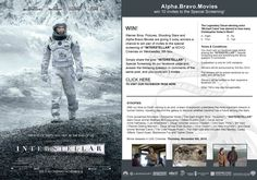 "Warner Bros. Pictures, Shooting Stars and ABM are giving 5 lucky winners a chance to win a pair of invites to the Special Screening of ""INTERSTELLAR"" at NOVO Cinemas on Wednesday, 5th November. Simply share the post ""INTERSTELLAR"" 