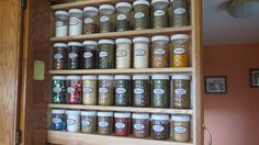 Building A Hidden Pull Out Spice Rack To Organize A Cabinet Sliding Barn Door Hardware Pull Out Kitchen Storage, Kitchen Drawer Organization, Spice Organization, Room Organization, Pull Out Spice Rack, Diy Spice Rack, Spice Storage, Cabinet Spice Rack, Spice Drawer
