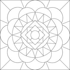 Free Printable Mandala Coloring Pages | Mandala Coloring Page by accidental-artist