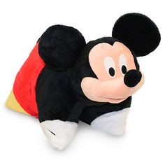 Disney Mickey Mouse Plush Pillow - For Anna's Mickey Mouse room she wants Baby Mickey, Disney Mickey Mouse, Walt Disney, Disney Theme, Minnie Mouse, Pillow Pals, Plush Pillow, Mickey Mouse Bedroom, Animal Cushions