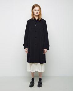 Comme des Garçons Shirt Girl / Round Collar Coat Dress