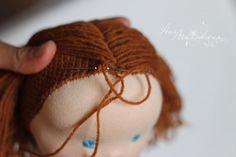 doll hair - nice tutorial!