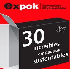 No hay duda que la sustentabilidad está llegando con paso firme, y una muestra de ello es el marketing; no te puedes perder estos 30 empaques que hemos compilado para ti