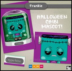 Halloween Mascot - Frankie - GraphicRiver Item for Sale